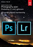 Adobe Creative Cloud Photography Plan: Photoshop CC Plus Lightroom - 12-Month Licence - Download (PC/Mac) Bild