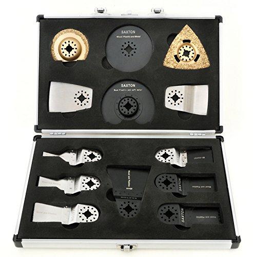 Saxton SH13CSFX 13 Klingen Koffer für Aldi Ferrex 300 W Multifunktionswerkzeug