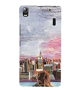 EPICCASE City View Mobile Back Case Cover For Lenovo K3 Note (Designer Case)