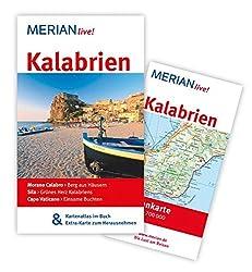 MERIAN live! Reiseführer Kalabrien: MERIAN live! - Mit Kartenatlas im Buch und Extra-Karte zum Herausnehmen
