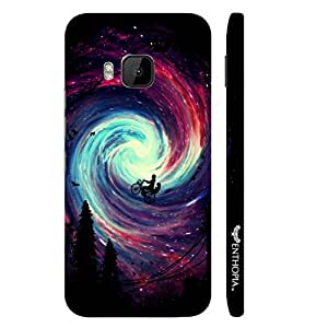 HTC One M9 Riding in the Sky designer mobile hard shell case by Enthopia