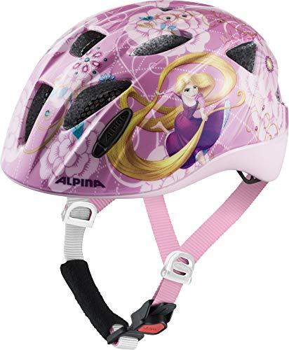 Alpina Mädchen XIMO Fahrradhelm, Disney Rapunzel, 49-54 cm