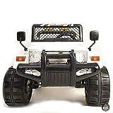 ATAA Todo Terreno Estilo Jeep 4x4 12v - Blanco - Coche eléctrico Infantil para niños y Bebes con batería Potente