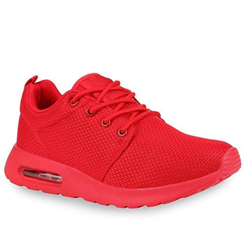 Homens Mulheres Tênis Únicos Sneakers Calçados Esportivos Perfil De Aptidão Total De Vermelho