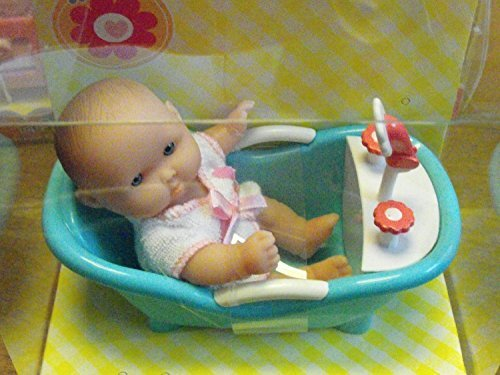 My Sweet Love Lots to Love Mini Baby in Bathtub Mini Playset by Wal-Mart