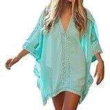 SUNNOW® Boheme Chic Tunique Hippie Robe de Plage Bikini Cover Up Kaftan Chemise Hippie Femme