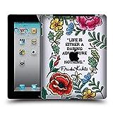 Head Case Designs Officiel Frida Kahlo Aventure Audacieuse Art Et Citations Étui Coque D'Arrière Rigide pour iPad 2 (2011)