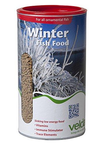 Velda 124156 Winterfutter für Teichfische, Sinkend, Winter Fish Food, 2.5 l