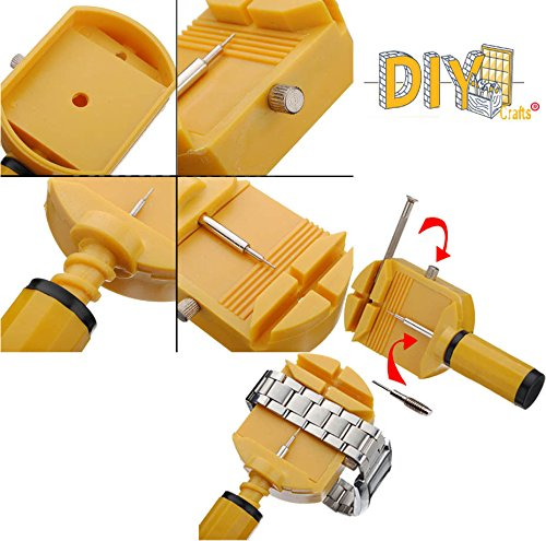DIY Crafts Watch Band Strap Link Pin Adjuster Remover Repair Toolkit Spare Pin
