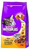 Whiskas Trocken Adult mit Huhn, 1er Pack (1 x 2 kg)