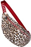 Levi's Unisex Gürteltasche XL Leopard Sling Crossbody Bag braun