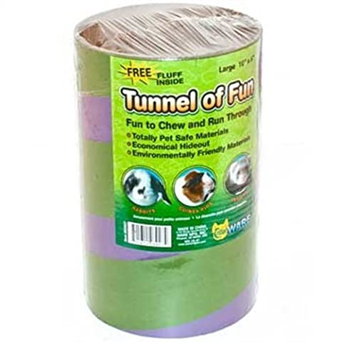 Ware Tunnels of Fun Small Pet Hideaway, Large by Ware Manufacturing Inc. (English Manual)