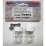Seitenanschluss-Set mit 2 Glasbecher 15ml. 124403