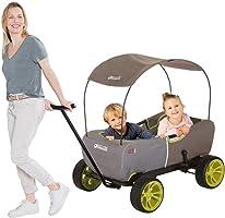 هاوك ايكو موبيل - عربة متعددة الوظائف مع مظلة مظلة مظلة قابلة للإزالة | عربة نقل للأطفال | عربة قابلة للطي | عربة حديقة...