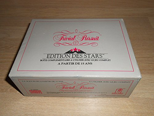 Trivial Pursuit Edition des Stars - recharge 1988