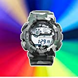 Multifunctional Fashion Watches Children Adult LED Digital Outdoor Sports Watches Boys Girls Waterproof Watches