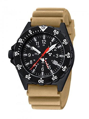 KHS Tactical Watches Shooter GMT KHS.SHG.DT Militär Armbanduhr