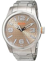 5055715dc456 Hugo Boss Orange Homme Analogique Classique Quartz Montres bracelet avec  bracelet en Acier Inoxydable - 1550051
