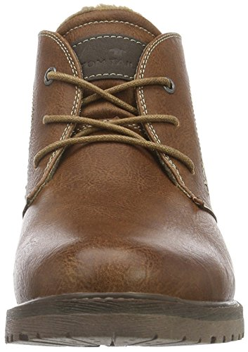 Tom Tailor 1680303, Desert Boots Homme Marron (Nuts)