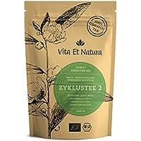 Vita Et Natura BIO Zyklustee 2-100g loser Kräutertee-Mischung nach traditioneller Rezeptur - 100% biologische und naturbelassene Zutaten - DE-ÖKO-001