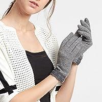 Tocca Schermo guanti di lana donne inverno più velluto spesso