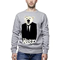Three Monkeys Dog In Suit Animals Collection Men's Unisex