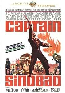 Captain Sindbad [DVD] [1963] [Region 1] [US Import] [NTSC]
