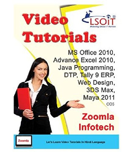 LSOIT MS Office + DTP + Tally + Web Designing + Advance Excel + 3DS Max Complete in depth + Maya + Java Video Tutorials (DVD)