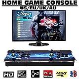 Cherishly 1388 HD Retro Arcade-Spielekonsole - Moonlight Box 6S Arcade-Videospielkonsole Street Fighter Machine für 2 Spieler mit Doppel-Joystick-Unterstützung HDMI VGA-Ausgang
