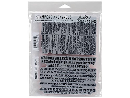 stampers-anonymous-tim-holtz-cling-stamps-7-inch-x-85-inch-newsprint-and-type