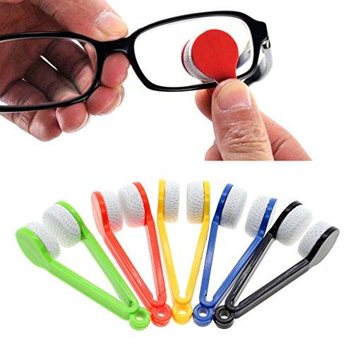 HuaYang 5 Stück Arbeitszimmer Mini Sonnenbrille Mikrofaser Pinselreiniger Putztuch