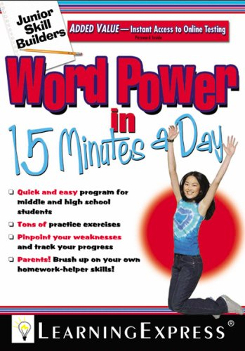 Word Power in 15 Minutes a Day (Junior Skill Builders)