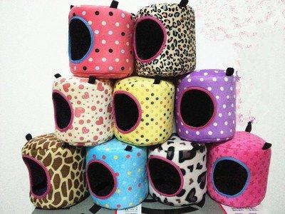 Fhouses Aufhängen, Bett, Nest, für Hamster, Papageien, Eichhörnchen, 6.3x 6.3, zufällige Farbe
