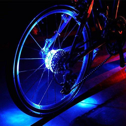 Cyborg LED luces para rueda de bicicleta, personalizado LED colorida rueda luces–perfecto para seguridad y diversión–fácil de instalar–mejor regalo ideas de regalo para niños, Hombres y Mujeres. Divertido y llantas Llantas de bicicleta seguridad luz