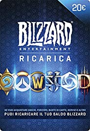 Ricarica Blizzard 20 EUR | Codice per PC