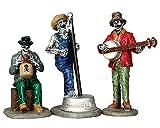 Lemax - Jeeperscreepers Jugband - Band der Untoten - Spooky Town - 3er Set - Polyresin - Figuren & Zubehör für Halloween