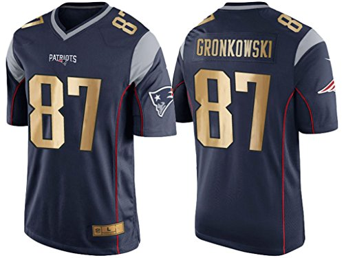 new-england-patriots-87-rob-gronkowski-navy-blue-golden-edition-jersey-m