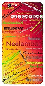 Neelambari (a raagini) Name & Sign Printed All over customize & Personalized!! Protective back cover for your Smart Phone : Sony Xperia T2 Ultra / T2 Ultra Dual