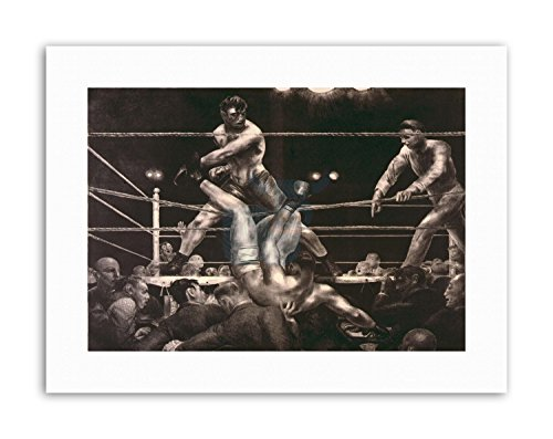 Wee Blue Coo LTD Draw Boxing Jack Dempsey LUIS FIRPO Polo New York Sport Canvas Art Prints