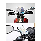 Delight Accessories Bike Bicycle Motorcycle Mobile Cell Phone Holder Mount Bracket For Apple Samsung Sony Lg And Other Mobile Phones