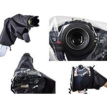 Protección de lluvia profesional para Canon EOS 1D MK III, 1Ds MKIII, 1D MK IV, 1D X, 5D MK III, 7D, 7D MK II - Por favor refiérase a las notas