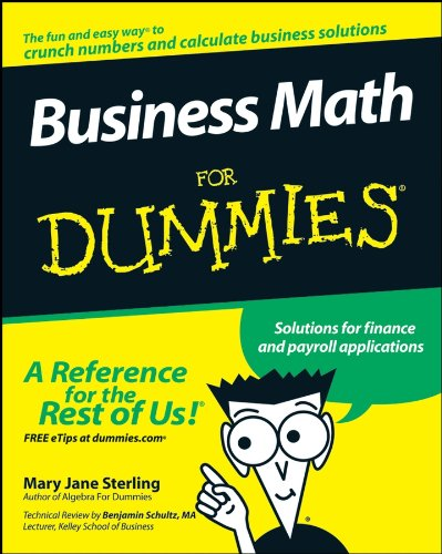 Business Math for Dummies (For Dummies Series)