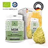 MSM 600mg di VITA1 • 365 capsule softgel (fornitura per 6 mesi) • con Vitamina C • Fatto in Germania