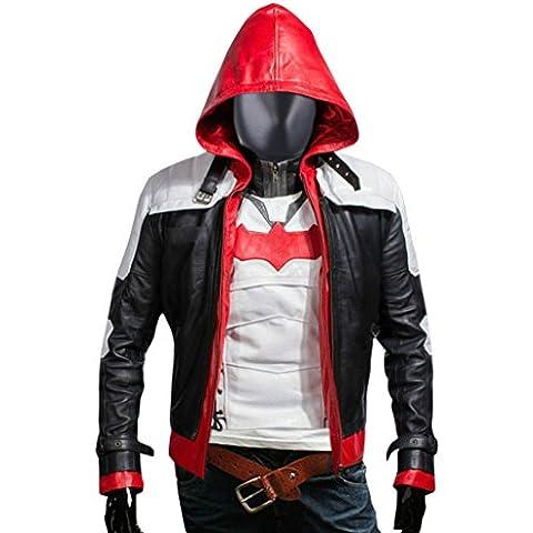 F&H Men's Jason Todd Arkham Knight Batman Hooded Jacket & Vest