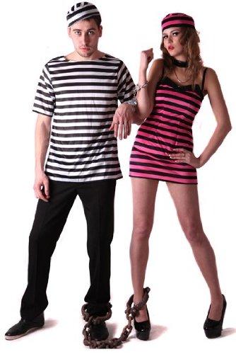 generique Costume coppia carcerati S