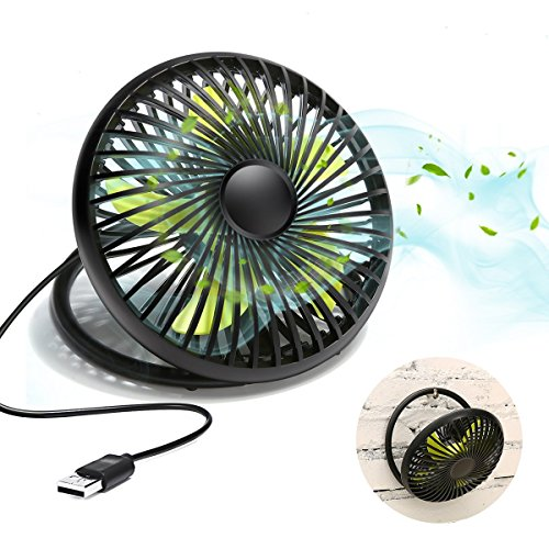 Ventilador USB MECO Portable USB Powered , 6 '' Pequeño Ventilador de...