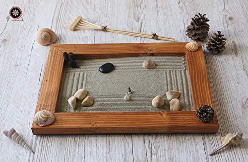 Jardin zen Japones para Interior de Hogar en estilo Feng shui.(personalizable) ॐ Zensimongardens®