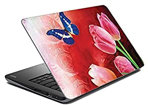 meSleep Butterfly Lilly Laptop Skin