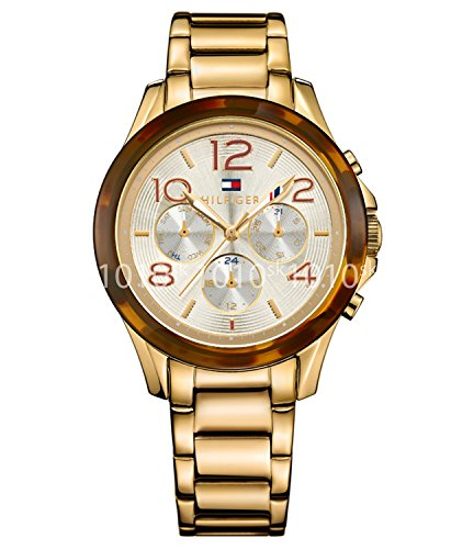 Tommy Hilfiger Analog Gold Dial Women's Watch-TH1781527J image