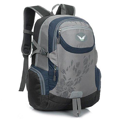 LJ&L Outdoor Klettern Schultertasche, 30 Liter Kapazität Reisetasche, Outdoor Nylon Material solide tragen multifunktionale Männer und Frauen Universal Schultertasche D
